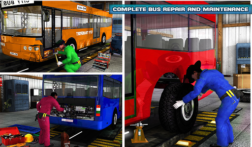 Smart Bus Wash Service: Gas Station Parking Games 1.1 screenshots 13