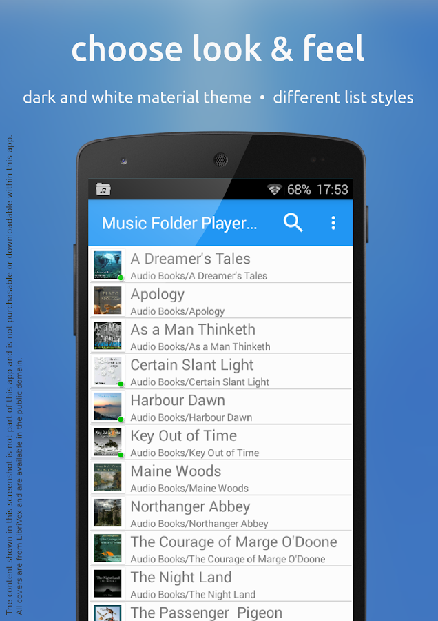 Music Folder Player Free- screenshot