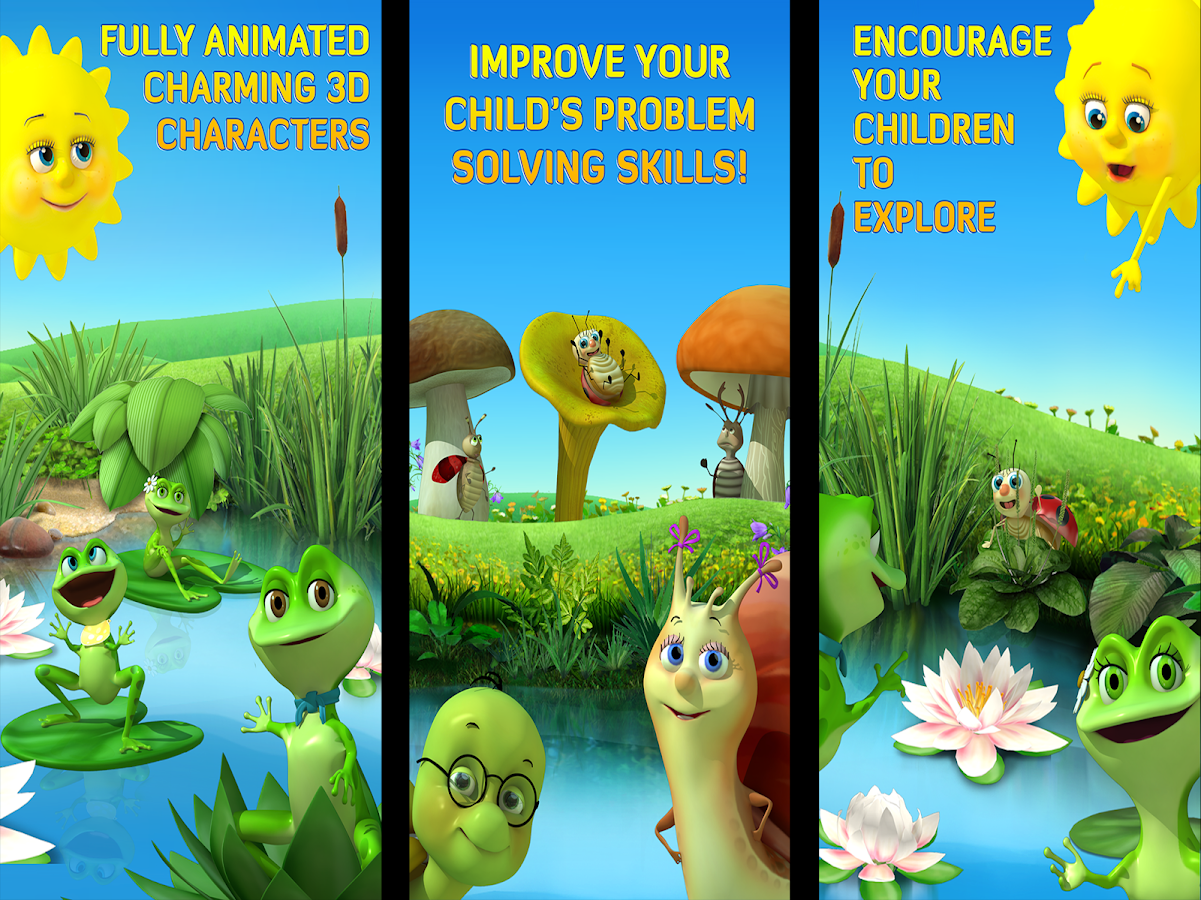 sunnyfunnies umbrellas u2013 learning made fun android apps on