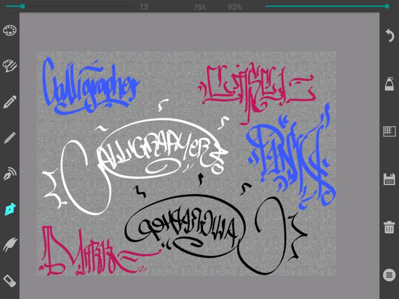 Calligrapher Pro Screenshot 8
