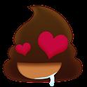 Poo Emoji Keyboard Gif icon