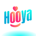 Hooya: video chat & live call icon