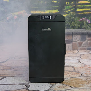 Easy Smoked Chicken Thighs in a Digital Electric Smoker.