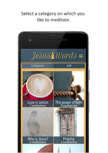 Jesus Words Meditation 1.280 screenshots 1