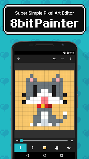 8bit Painter - Pixel Art Drawing App 1.8.2 Screenshots 1