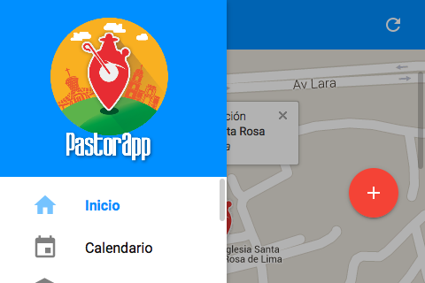 PastorApp- screenshot