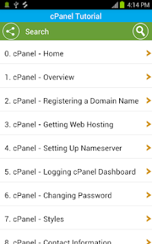 Download Free cPanel Tutorial APK latest version app for