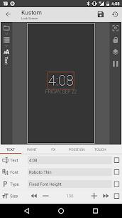 KLCK Kustom Lock Screen Maker – MOD Apk Download 2