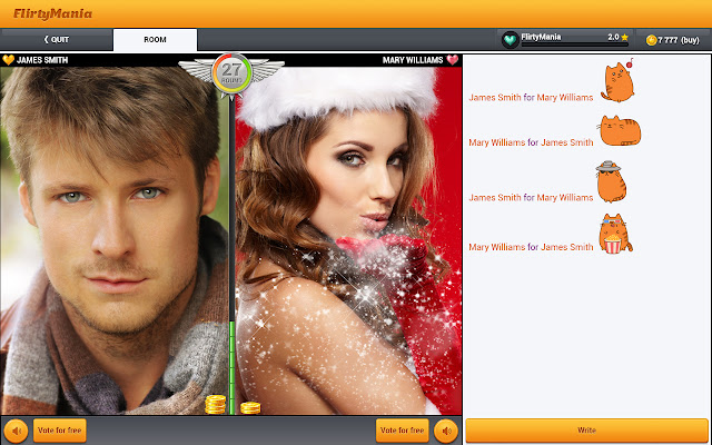 Free flirt chat rooms