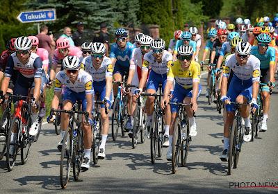 Renners in Ronde van Polen kregen voor slotetappe de zegen van de paus