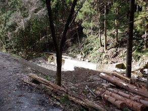 用水路の取水口