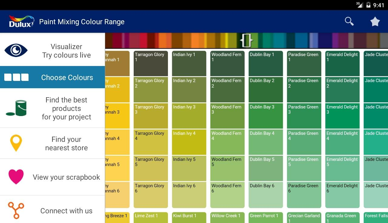 Dulux visualizer android apps on google play - Dulux exterior wood paint colour chart pict ...