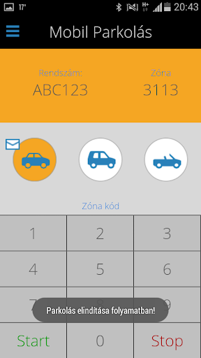 Mobilparkolás közterületeken