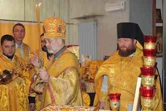 Photo: Празднование 5-летия прихода в Остенде - Viering 5 jaar orthodoxe parochie te Oostende - Aartsbisschop Simon gaat voor in de Goddelijke Liturgie