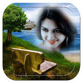 Scenery photo frame effects