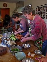 Photo: prepping ingredients