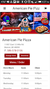 American Pie Pizza- screenshot thumbnail