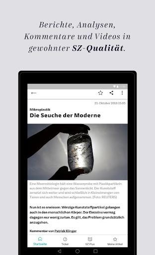 SZ.de - Nachrichten - Süddeutsche Zeitung 12.0.0 screenshots 13