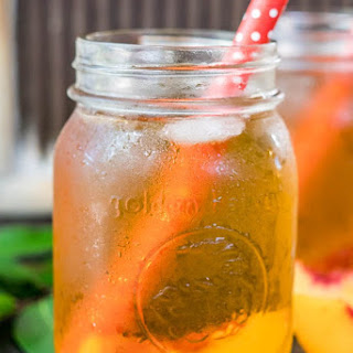 Peach Iced Rooibos Tea Recipe