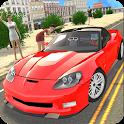 Sport Car Corvette icon