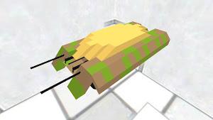 課金画面の金塊乗せた戦車