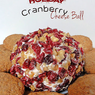 Holiday Cranberry Cheese Ball
