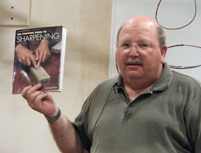 Photo: Here is his favorite book on sharpening.