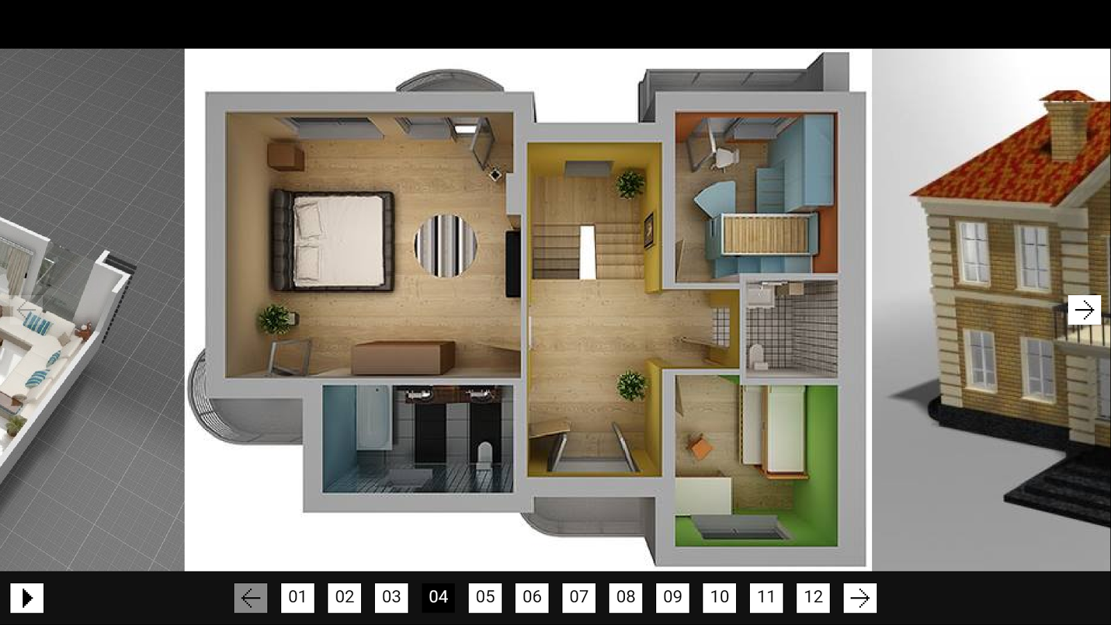 3d model home android apps on google play Three d house plans