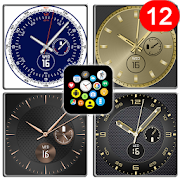 """Fancy"" watch face pack 8 for Bubble Clouds"
