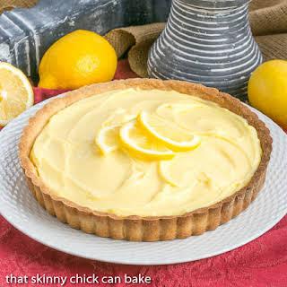 Creamy Lemon Tart.