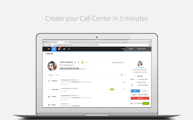 Talkdesk Click-to-Call Extension