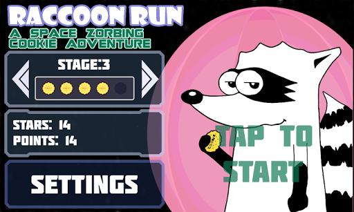 Raccoon Maze Run