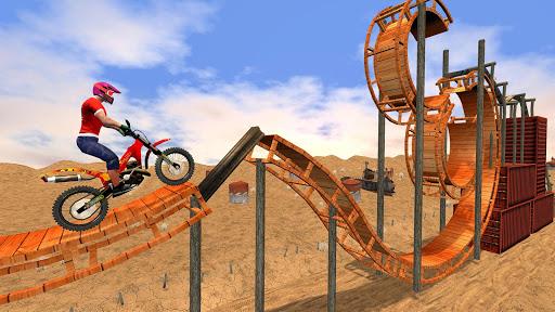 New Bike Racing Stunt 3D : Top Motorcycle Games 0.1 screenshots 9