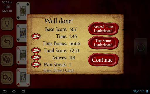 Solitaire Free screenshot 11
