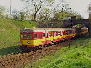 Photo: EN57-675, Bydgoszcz Główna - Olsztyn Główny {szlak Toruń Miasto - Toruń Wschodni; 2004-04-21}