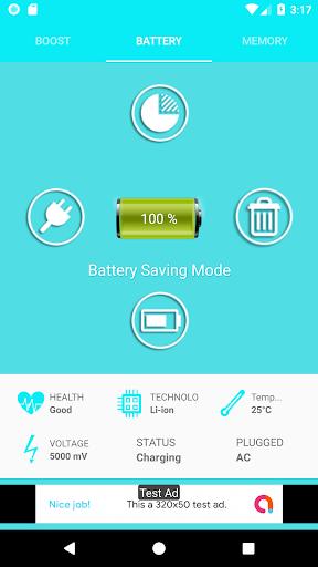 Phone - Ram Booster - (Cleaner) / Battery Doctor  screenshots 2