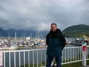 Photo: Me at Haines Harbor.