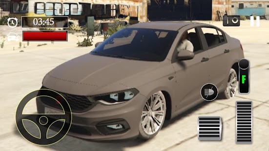 Car Parking Fiat Egea Simulator - náhled