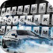 Sports Cool Car Keyboard Theme