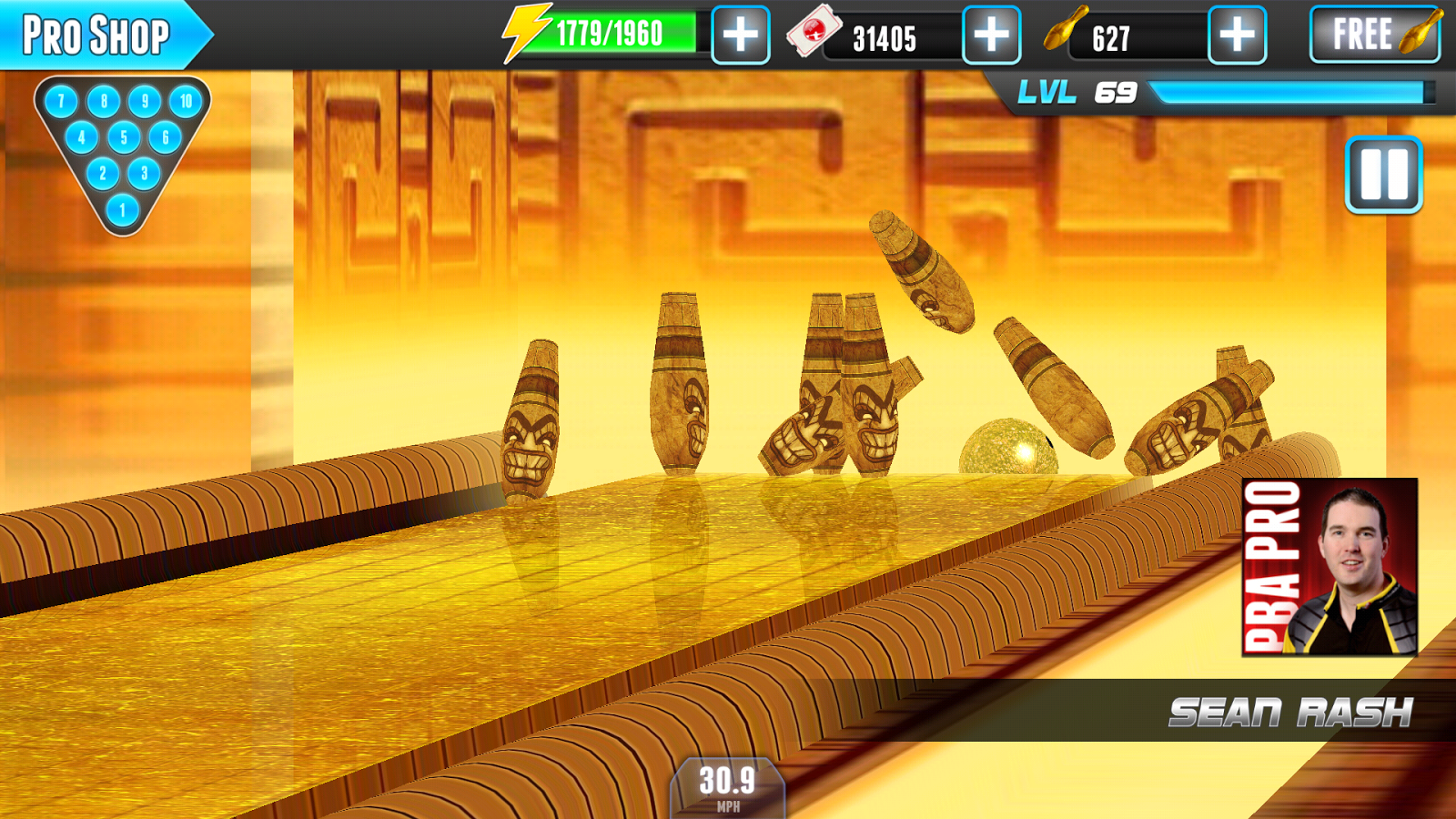 PBA® Bowling Challenge- screenshot