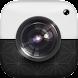 白黒カメラ - Androidアプリ