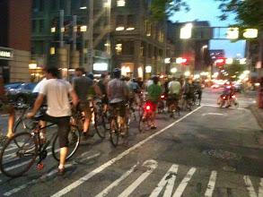 Photo: Slow Ride, downtown Cincinnati
