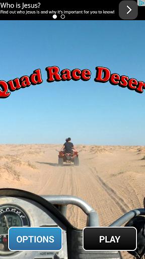 Quad Race Desert