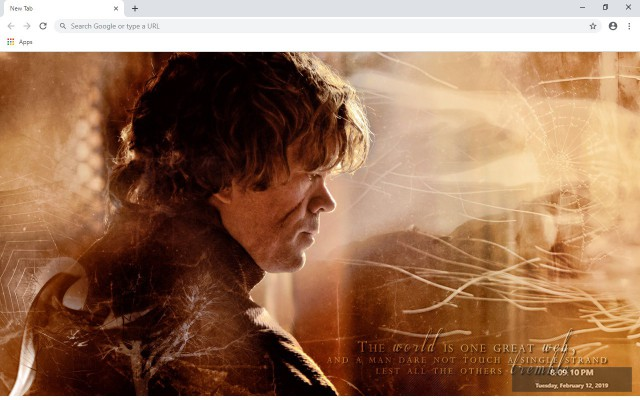 Tyrion Lannister New Tab