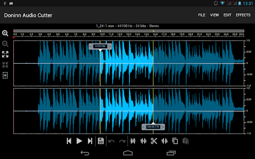 Doninn Audio Cutter Screenshot