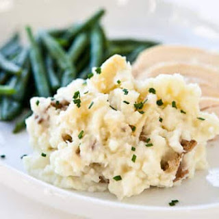 Roasted Garlic Mashed Potatoes.