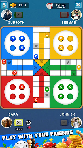 King of Ludo Dice Game with Free Voice Chat 2020 1.5.2 screenshots 2