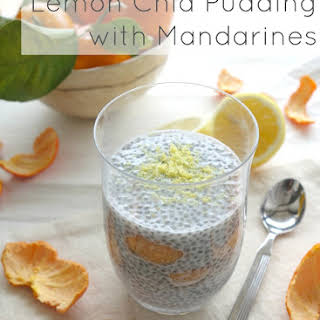 Lemon Chia Pudding with Mandarines.
