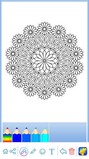 Mandala: Coloring for adults screenshots 3
