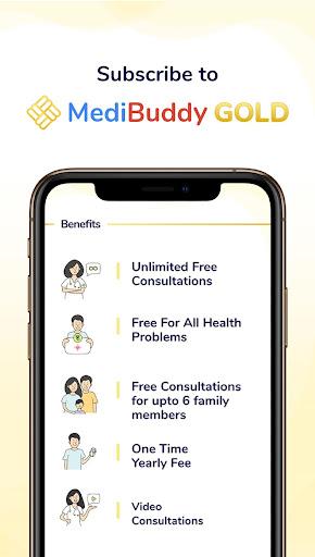 MediBuddy -Consult Doctor Online, Book Blood Test screenshot 2